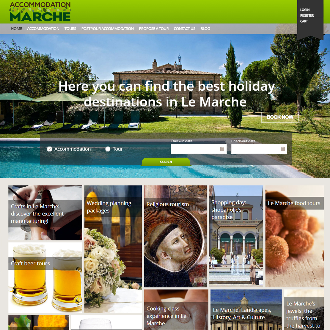 accommodationmarche.com